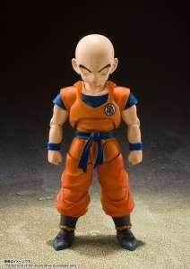 Une nouvelle figurine de Krilin dans la gamme S.H. Figuarts