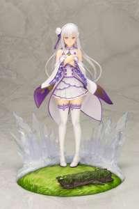 Emilia est à nouveau à l'honneur chez Kotobukiya