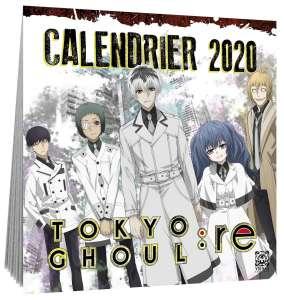 Des calendriers de Tokyo Ghoul et L'Attaque des Titans chez Ynnis