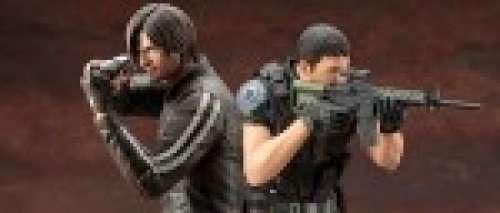 Les héros de Resident Evil Vendetta en figurines chez Kotobukiya
