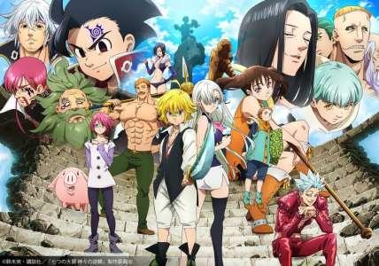 Nouveau trailer pour la saison 3 de l'anime Seven Deadly Sins