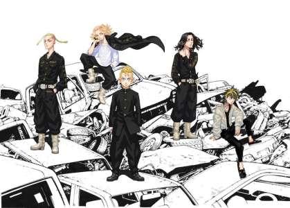 Une adaptation animée annoncée pour Tokyo Revengers