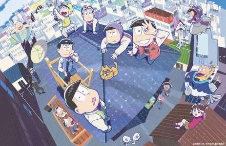 Deux nouveaux films d'animation annoncés pour Osomatsu-san
