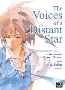 Aperçu du manga The Voices of a Distant Star chez Pika
