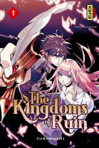 Le manga The Kingdoms of Ruin annoncé par Kana