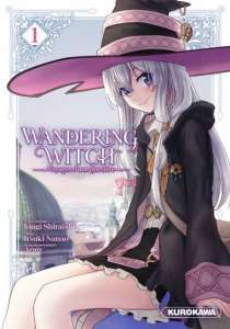 Aperçu du manga Wandering Witch chez Kurokawa