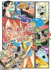 Un agenda One Piece chez Glénat