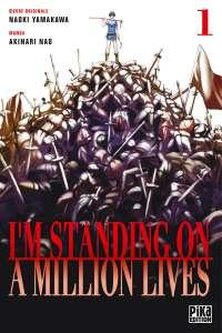 Aperçu du manga I'm standing on a million lives chez Pika