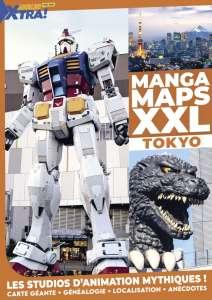 Un numéro hors-série spécial studios d'animation sur la carte de Tokyo pour Animeland X-Tra