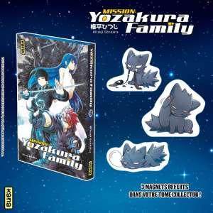 Une édition collector pour le tome 3 de Mission Yozakura Family