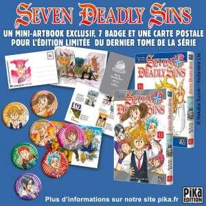 Une édition collector pour le dernier tome de Seven Deadly Sins