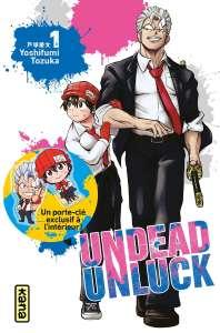 Une édition collector pour le tome 1 d'Undead Unluck