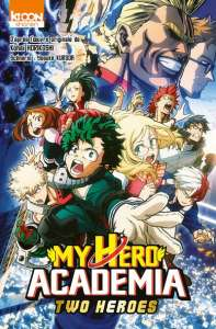 Aperçu de l'anime comics My Hero Academia Two Heroes