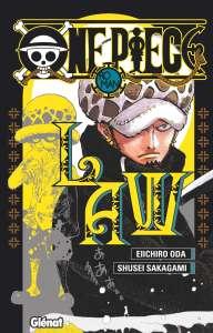 Aperçu du roman One Piece - Law chez Glénat
