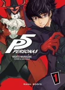 Une bande-annonce pour le manga Persona5