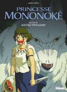 Nouvelle date pour les ouvrages sur Princesse Mononoke chez Glénat