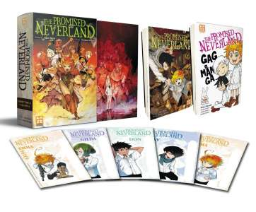Un nouveau coffret collector pour The Promised Neverland