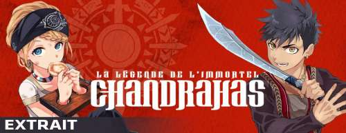 Extrait et bande-annonce pour le manga ChandraHas
