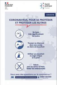 Coronavirus chinois (COVID-19) : symptômes, causes, traitements, transmission, carte en temps réel