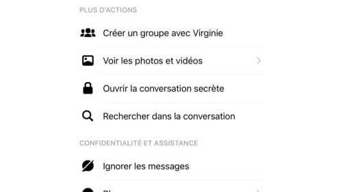 Facebook Messenger : comment activer les conversations chiffrées secrètes