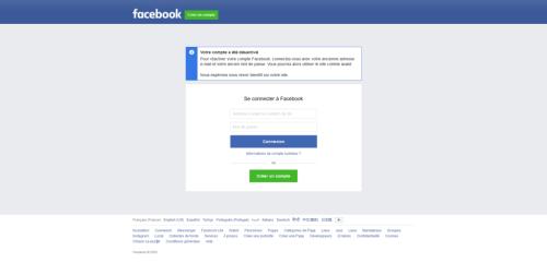 Comment désactiver son compte Facebook Messenger