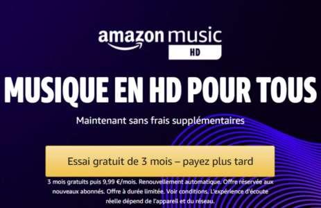 Amazon baisse le prix de son service Music HD pour faire face à la concurrence
