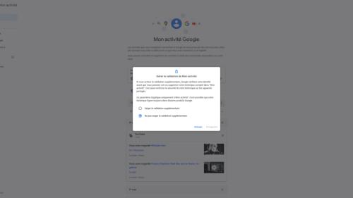 Google a une parade contre les regards indiscrets sur «Mon activité» avec les PC partagés