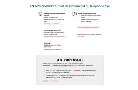 Sosh baisse de moitié le prix de son abonnement fibre jusqu'à la fin du mois