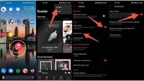 Comment profiter d'Apple Music en haute qualité sur Android?