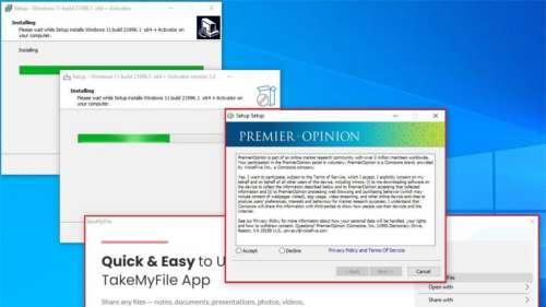 Ne téléchargez pas Windows 11 de n'importe où, vous risquez d'installer des malwares