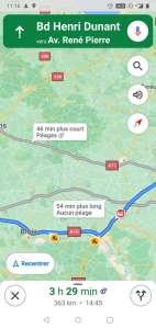 Google Maps envisage enfin d'indiquer le coût des trajets avec les péages