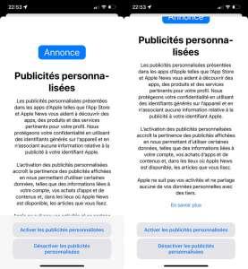 iOS 15 : Apple se soumet finalement à ses propres règles sur le pistage publicitaire