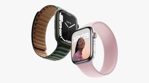 L'Apple Watch Series 7 mise sur un écran plus grand
