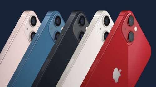 Voici l'iPhone 13 et son encoche plus petite