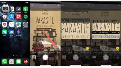 iOS 15 : comment scanner du texte directement depuis l'appareil photo avec Live Text