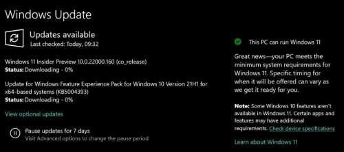 Votre PC est-il prêt pour Windows 11 ? Microsoft vous le dira directement dans Windows 10