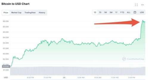 Record battu : le bitcoin n'a jamais valu autant
