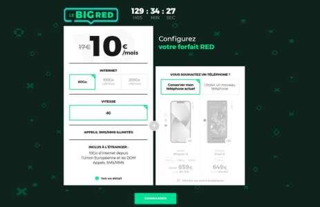 RED et B&You lancent une série de forfaits 4G gonflés en données et à petit prix