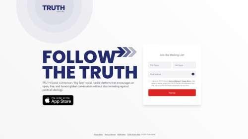Donald Trump lance TRUTH, un nouveau réseau social à sa gloire