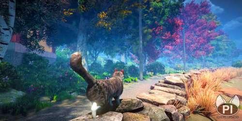 Dans le jeu vidéo peace island, vous incarnez un chat dans un monde ouvert