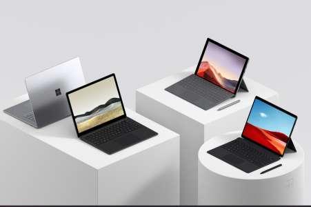 Vente Flash Microsoft: Surface Pro 7 et X sont en chute libre sur le site officiel 🔥