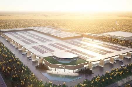 La Gigafactory de Tesla à Berlin prend du retard