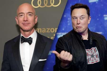 Avec ce tweet, Elon Musk fait de Jeff Bezos un ennemi