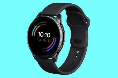 L'écran circulaire de la nouvelle OnePlus Watch se montre