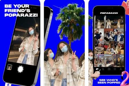 Poparazzi, l'app anti-selfie, explose les compteurs de l'App Store