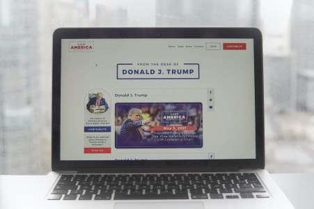 Après un bide monumental, le blog de Trump est déjà fermé