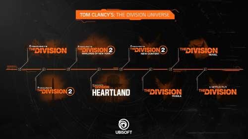 The Division: bientôt un nouvel opus Heartland, un jeu mobile, un film sur Netflix, un roman…