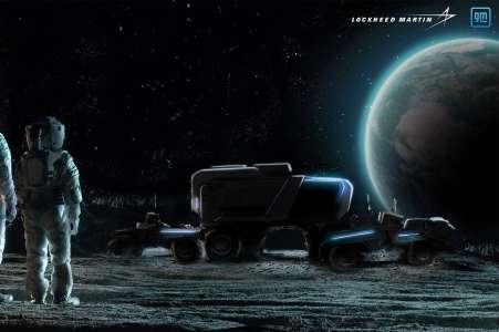 General Motors prépare une voiture autonome… pour la Lune