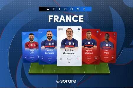 NFT: Sorare signe un accord historique avec l'Equipe de France de Football