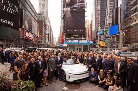 Lucid Motors en bourse: le concurrent de Tesla monte en flèche
